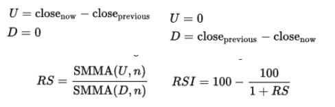 Rsi forex formula