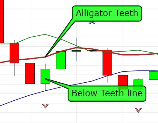 Fractal alligator strategy